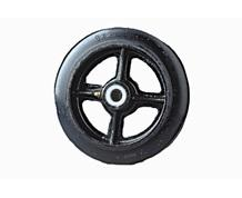 HI-CAP RUBBER MOLD-ON / CAST IRON WHEELS